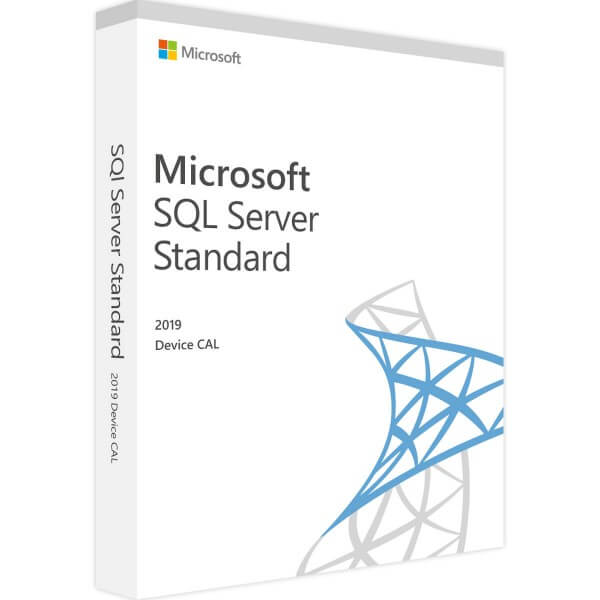 SQL Server 2019 Standard - 1 Device CAL