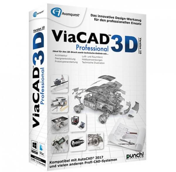 Avanquest ViaCAD 3D Version 10 Professional
