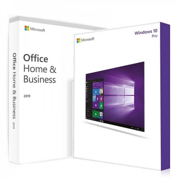 Windows 10 Pro + Office 2019 Home & Business