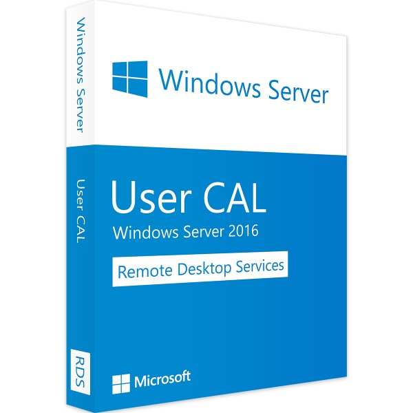 Windows Server 2016 RDS - 1 User CAL