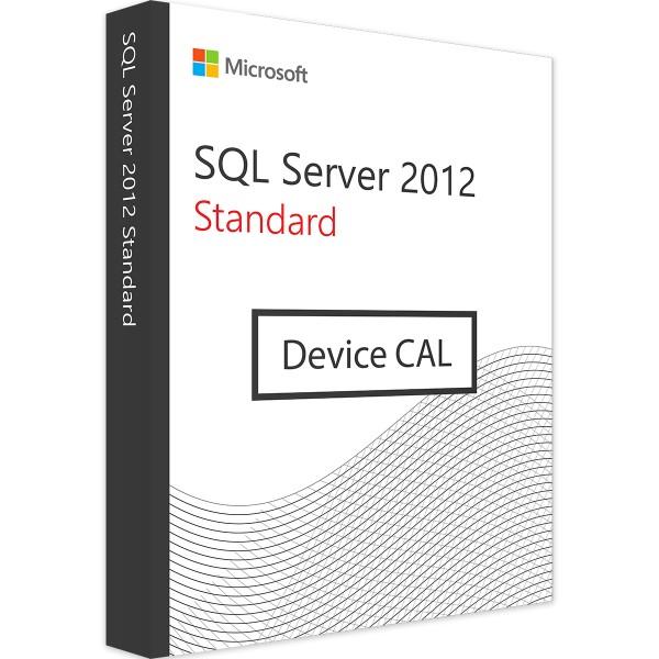 Microsoft SQL Server 2012 Standard - 1 Device CAL