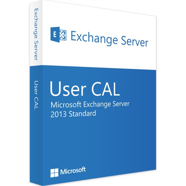 Microsoft Exchange Server 2013 Std 10 User CALs